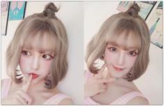 【图】适合圆脸女生的短卷发发型