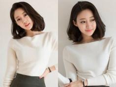 气质可爱韩国短发发型图片大全