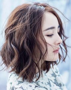睡不醒lob发型逆天美,齐肩发真的美吗?