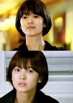 时尚又可爱的蘑菇头短发发型图片女生篇