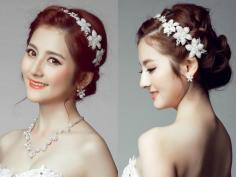 魅力新娘最爱的2017年流行新娘盘发发型
