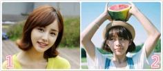 八款韩式轻巧可爱荷叶头发型图片
