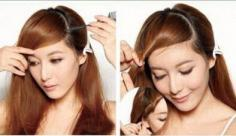 扎发造型知多少?精致的韩式半扎发扎法图解