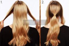 受欢迎的冬季长发发型扎法