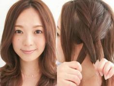 教你如何轻松打造出优雅韩式盘发