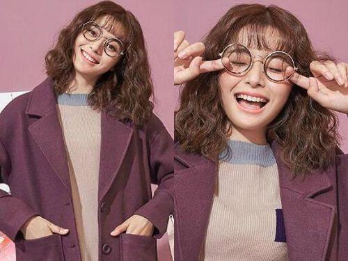 最受女生欢迎的空气刘海韩式短卷发发型