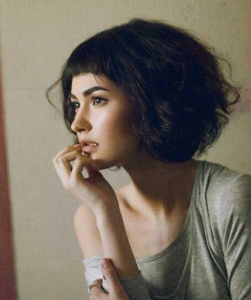 各种风格波波头短发发型图片