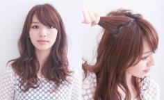 秋季长发发型扎法让你甜美时尚无人能敌!