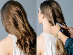 长烫发发型怎么扎好看?设计感满分的长烫发扎发教程