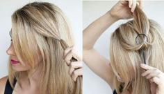 简约的韩式发型扎法,透露你的小心机!