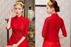 【图】五款中式新娘盘发发型彰显传统古典美