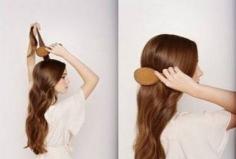 秋季长发发型扎法,浪漫半扎发最简单