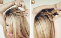 甜美韩式发型的简单扎法3分钟搞定