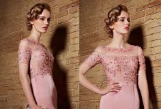 浪漫的欧美新娘盘发发型彰显奢华的大气!