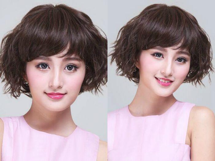 【图片】极致潮流女短发锡纸烫发型