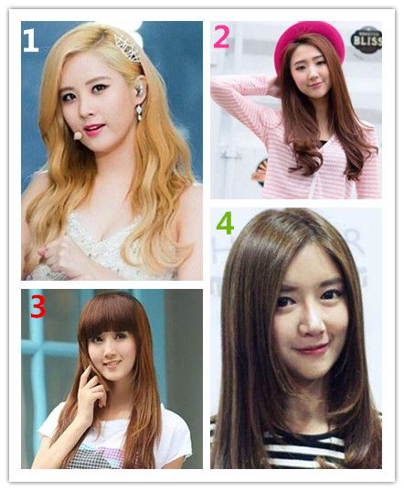 揭秘圆脸适合的4种发型图片
