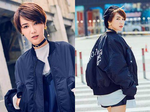 日系原宿女生齐耳短发发型——个性女生的标配