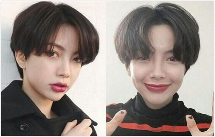 十款韩式时尚齐耳短发发型