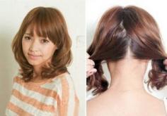 韩式双马尾发型扎法,在家也能DIY的俏丽