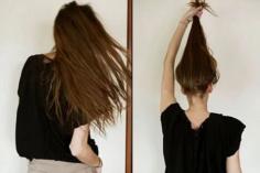 中长发的丸子头怎样才能扎出自然蓬松感?