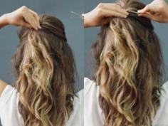 【步骤】创意满分的新娘卷发盘发图片