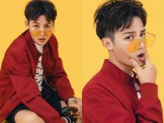 时尚酷帅刘海定位烫男生发型