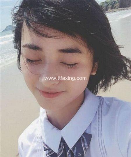演员沈月的发型叫什么 达人教你如何剪 ttfaxing.com