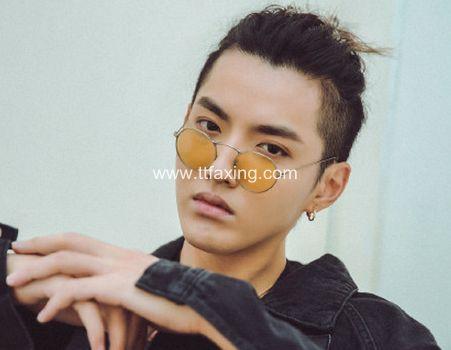 菠萝头发型适合什么人 吴亦凡菠萝头同款发型图片 ttfaxing.com