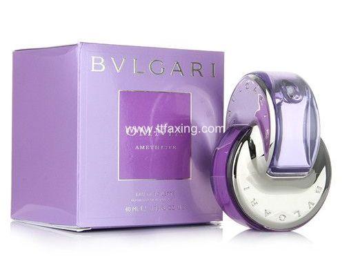宝格丽紫水晶怎么打开 找到喷头按压就行了 ttfaxing.com