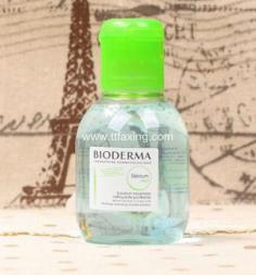 贝德玛蓝水能卸眼妆吗 比粉水力度会更强更干净