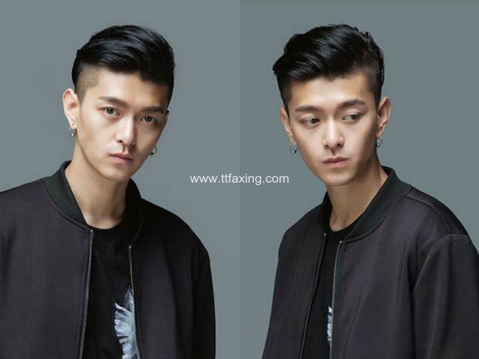 今年最时髦的男生离子烫大背头图片 ttfaxing.com
