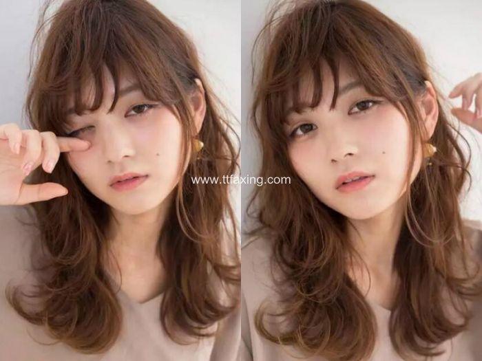 韩式中长梨花烫发 可甜美可优雅的发型 ttfaxing.com