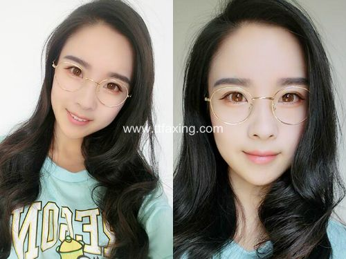 带眼镜方脸适合的发型图来袭!这六款最修脸 ttfaxing.com