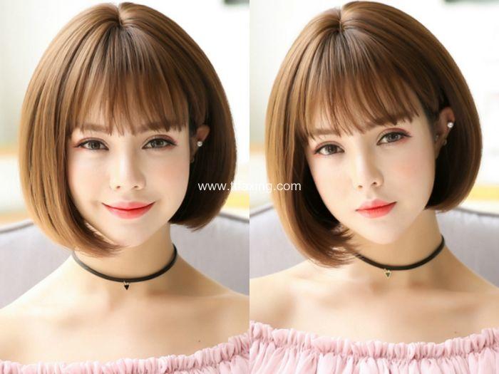 让你青春靓丽的波波头短发发型 ttfaxing.com