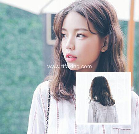 甜美漂亮的中发蛋卷头图片 ttfaxing.com