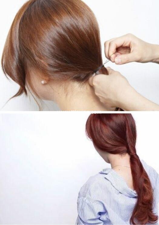 可以自己扎的简单发型 优雅又大方 ttfaxing.com