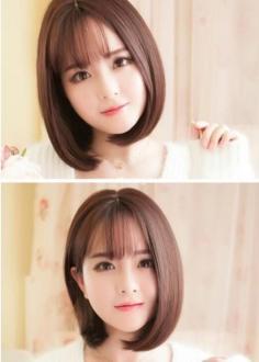 女生中短直发发型 以下六款美炸天