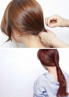 可以自己扎的简单发型 优雅又大方