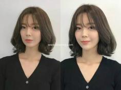 【图片】甜美动人的韩式及肩短发